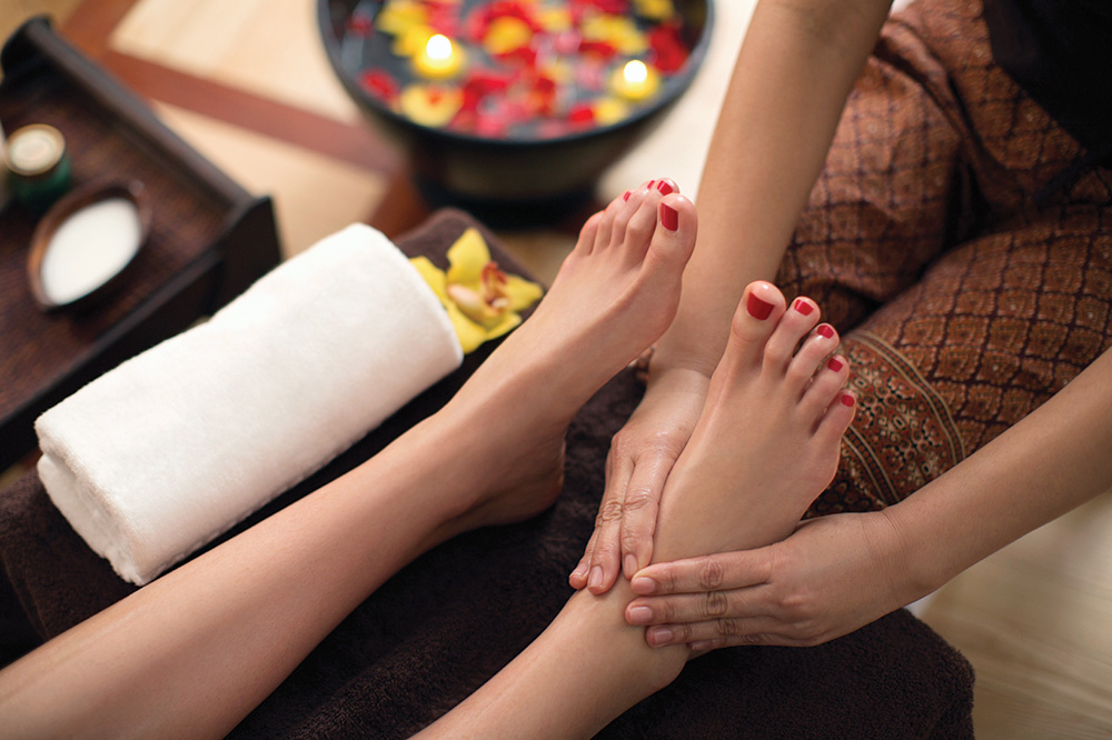 Give your hard-working tootsies the holiday bonus they deserve with these local spa indulgences.