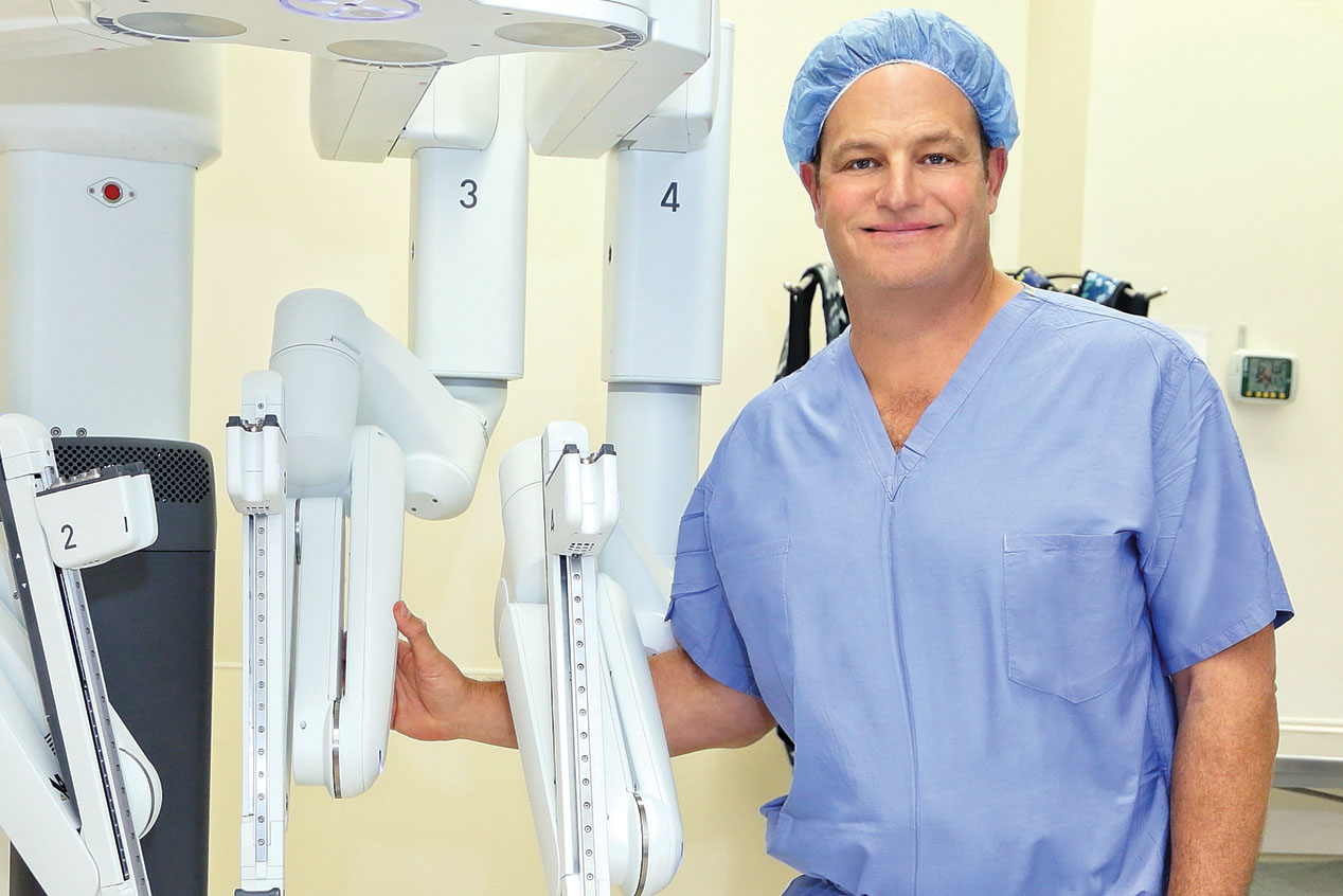David Ornstein M.D., is a board-certified urologist who specializes in all  areas of urologic cancer with particular expertise in robotic surgery.